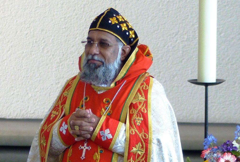 Bilder vom Gottesdienst mit Baselios Kardinal Cleemis