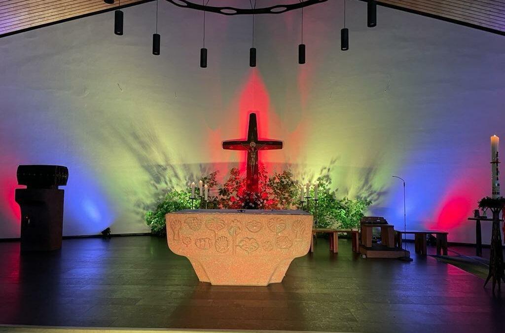 Alternativer Wortgottesdienst in St. Norbert