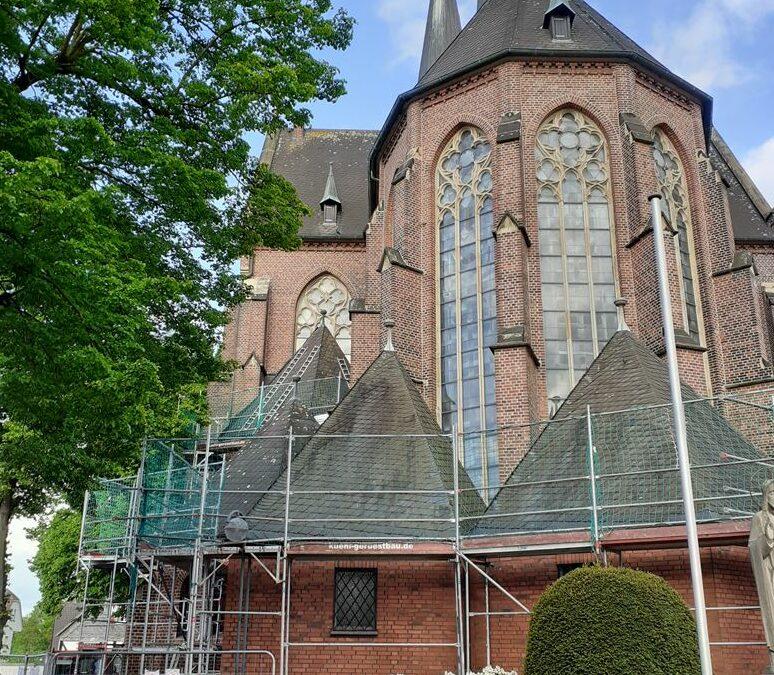 Spitztürme der St. Marien Kirche