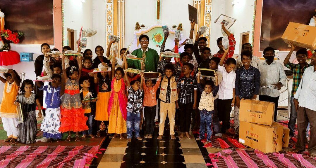 Herzlichen Dank für die Spenden für Pfarrer Mummadi nach Indien